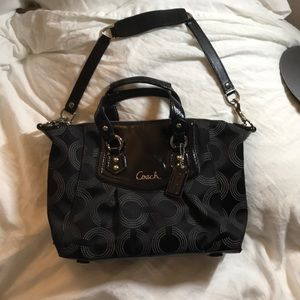 Coach Jacquard bag with tag